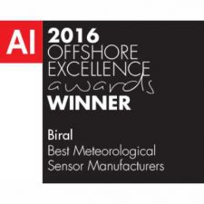 Biral Wins Manufacturing Award for Meteorological Sensors