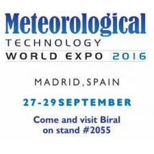 Biral Displays Advancd Meteoroogical Mesurement Systems at Met Tech 2016