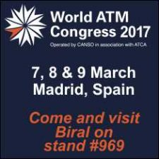 Biral Exhibits at World ATM Congress in Madrid