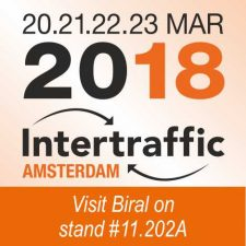 Intertraffic Amsterdam – 20-23 March 2018 – Stand 12.830A