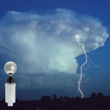 Reduce risk of lightning hazards at work with lightning warning system