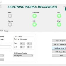 BTD-200 Lightning Works Messenger