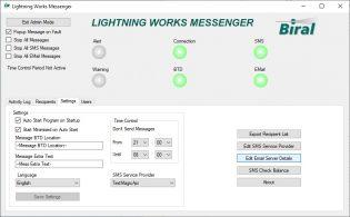 BTD-200 Lightning Works Messenger