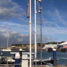 Biral's present weather sensor delivers essential data to UK harbour.